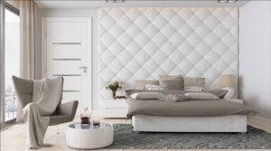 Cabeceros tapizados un nuevo estilo tapicer as toribio - Cabeceros con compartimentos ...