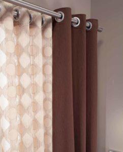 Cortinas o qu tapicer as toribio - Barra doble cortina ...